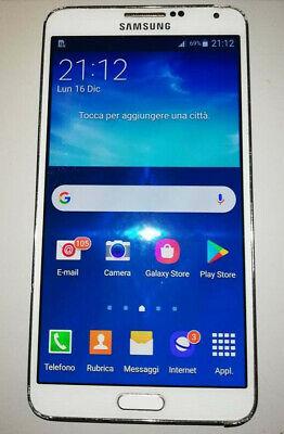 SAMSUNG GALAXY NOTE 3 - BIANCO - SM - N9005 - SMARTPHONE - CELLULARE comprar usado  Enviando para Brazil