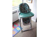 Mamas and Papas Pesto High chair, baby high chair
