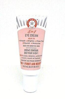 First Aid Beauty 5 In 1 Eye Cream ~.5 Oz.