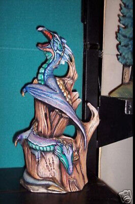 Ceramic Bisque Ready to Paint Dragons on Drift Wood
