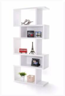 Elena Display Shelf Storage Rack Bookshelf Bookcase 5 Tier Campbellfield Hume Area Preview