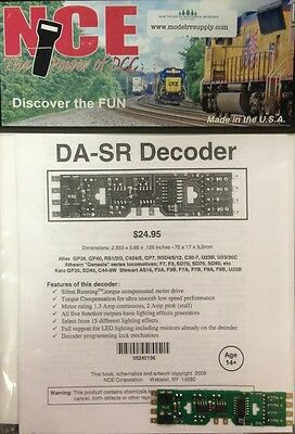 NCE 106 DA-SR DCC DECODER fits Atlas Kato Athearn Kato HO DASR  MODELRRSUPPLY-co