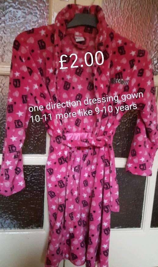 One direction dressing gown 9-11 years | in Stoke-on-Trent ...