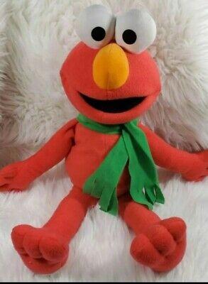 Fisher Price Plush Elmo Stuffed Animal Red Large Kids Gift Toy