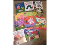 12 toddler/ baby books