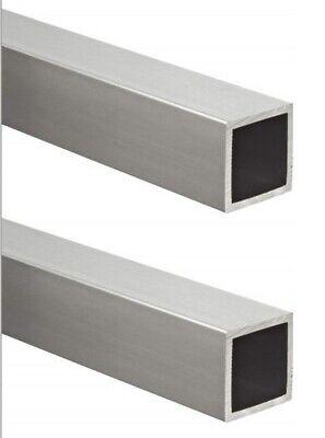 Aluminum Hollow Square Tubes 2 78 I.d. X 1 O.d. X 36 Long 116 Wall