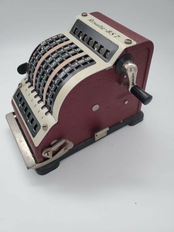Vintage Collectible Resulta BS7 Calculator circa 1934.