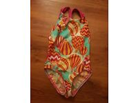 SPEEDO GIRLS ONE PIECE SWIMMING COSTUME SIZE-8