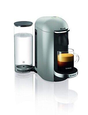 Nespresso Vertuoplus Deluxe Coffee And Espresso Machine Silver By Breville