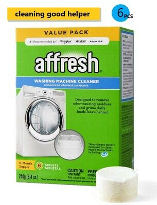 Affresh Washing Machine Cleaner, 6 Tablets-Cleans Front Load & Top Load Washers