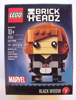 BrickHeadz Lego BLACK WIDOW 41591 Marvel C-10 Mint Sealed MIMB