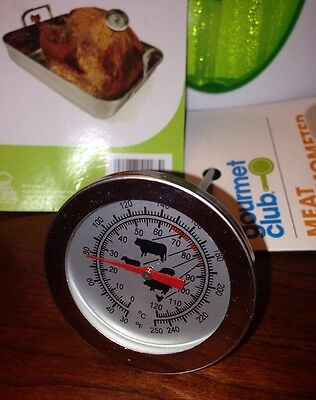 ROAST LEAVE-In COOKING FOOD PROBE MEAT THERMOMETER_BUY IN BULK$$ - Meat Roast Thermometer