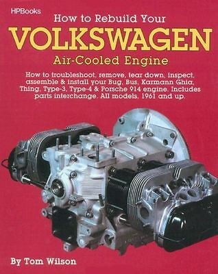 How To Rebuild Your VW Air-Cooled Engine - Book HP255