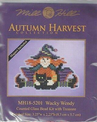 Halloween Wacky Wendy Witch Glass Bead & Treasure Mill Hill Kit](Wendy Halloween)