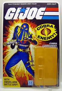VINTAGE GI JOE ACTION FIGURE 1984 HOODED COBRA COMMANDER 32 BK RESTORATION KIT
