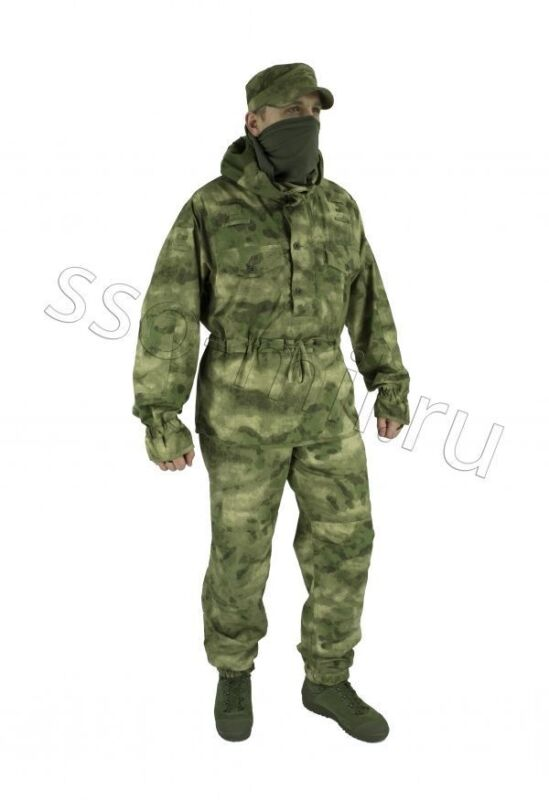 """SUIT """"PARTISAN"""" (Double-sided) in A-TACS FG CAMO COLOR by SSO"""