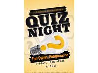 QUIZ NIGHT @ The Swan, Pangbourne