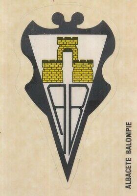 001 ESCUDO BADGE ⚽ ESPANA ALBACETE BALOMPIE STICKER PANINI FUTBOL 92-93