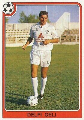 062 DELFI GELI ⚽ ROOKIE ESPANA ALBACETE BALOMPIE STICKER PANINI FUTBOL 92-93