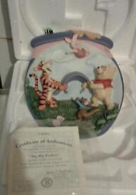 Winnie The Pooh Collectable Plates