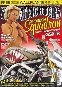 STREETFIGHTERS Magazine No.167 January 2008(NEW COPY)