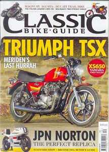 CLASSIC BIKE GUIDE-December 2014 (NEW/LATEST ISSUE)