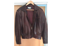 Man's Leather Jacket - unworn