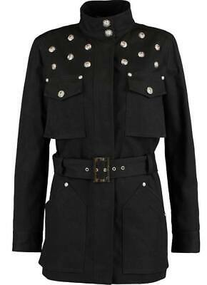 Versus Versace women's military style trench/jacket - Fully lined, Made in Italy