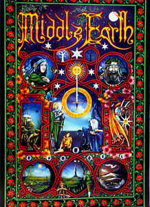 LORD-OF-THE-RINGS-Middle-Earth-Pracownik-Art-J-R-R-Tolkien-24x36-Art-Poster-RARE