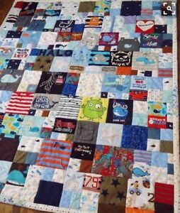 Baby's first year - memory quilt