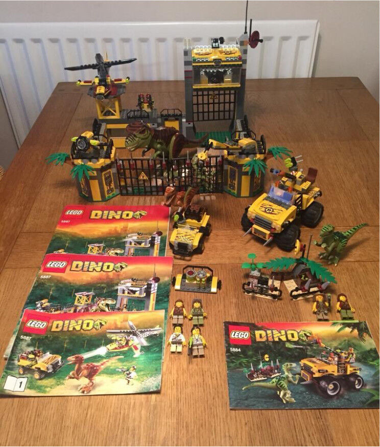 Lego Dino Sets 58845887 Retired Complete With Instructions No Box