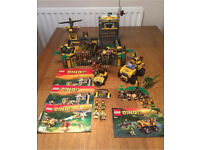 Lego Dino sets 5884,5887 retired complete with instructions no box
