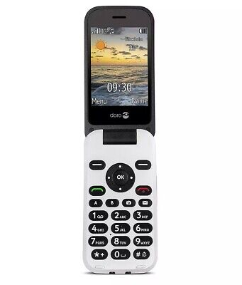 Android Phone - Doro 6620 3G Sim-Free Unlocked Big Button Mobile Phone - Black/White A