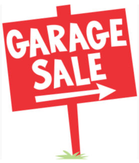Garage Sale - Sat 20.1  8am -11am