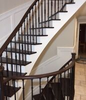 Stair REFINISHING and professional painting