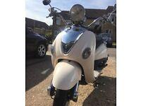 WHITE LEXMOTO 50cc