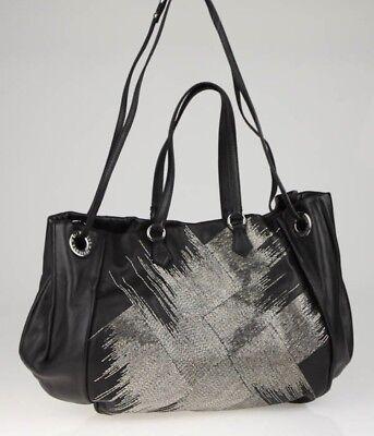 Valentino Garavani Black Leather Beaded Glam Tote Bag NWOT $2999