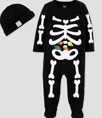 NWT BABY BOY 2pc  HALLOWEEN 2pc OUTFIT SIZE NEWBORN - Newborn Halloween Outfit