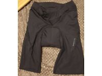 Unused Decathlon women's padded cycling short in small - BTWIN
