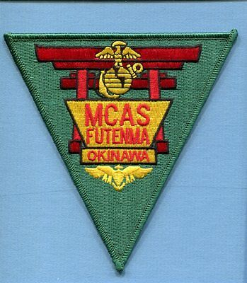 MCAS MARINE CORPS AIR STATION FUTENMA OKINAWA USMC Base squadron Jacket Patch