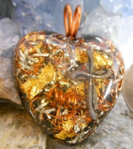 Orgone Pendant Experience Powerful Crystal Healing - Cross