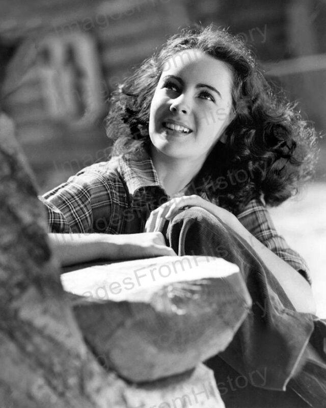 8x10 Print Elizabeth Taylor National Velvet 1945 #ETNV