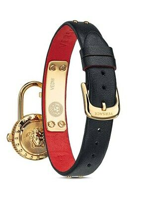 VERSACE RED MEDUSA LOCK ICON WATCH VEDW00119