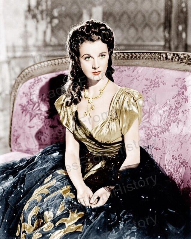 8x10 Print Vivien Leigh That Hamilton Woman 1941 Colorized #VLEQ