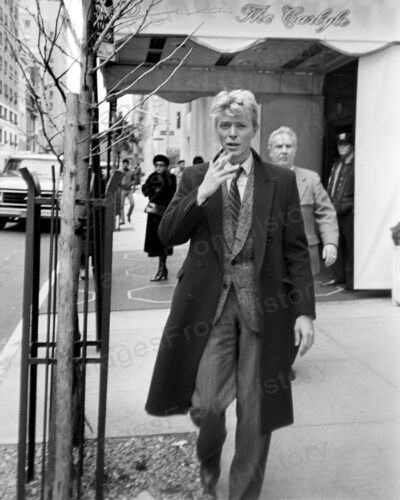 8x10 Print David Bowie The Carlyle Hotel New York City 1970 #DB79