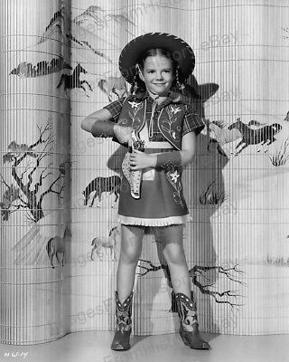 8x10 Print Natalie Wood Cute Western Cowgirl Outfit 1946 #NWCG - Cute Western Outfits