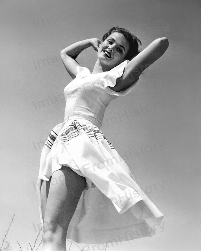 8x10 Print Gene Tierney Beautiful Sun Dress 1940 #GTAM