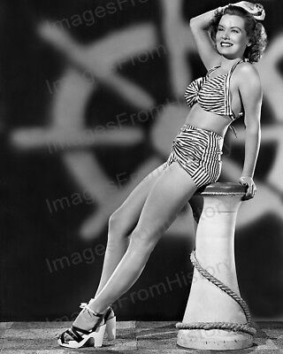 8x10 Print Brenda Joyce Sexy Leggy Cheesecake Pin Up #BJAA