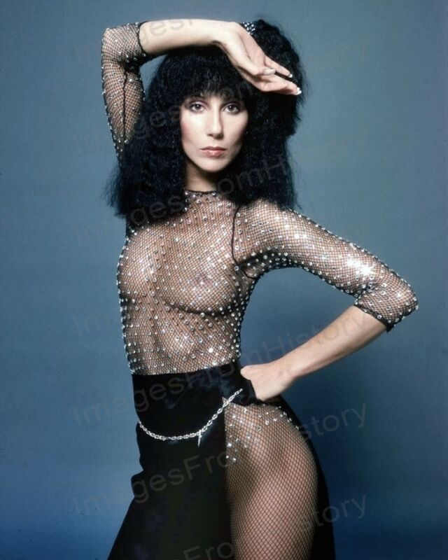 8x10 Print Cher Beautiful Revealing Sexy Portrait #6127