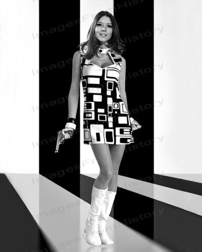 8x10 Print Diana Rigg Mod Fashions On Her Majesty